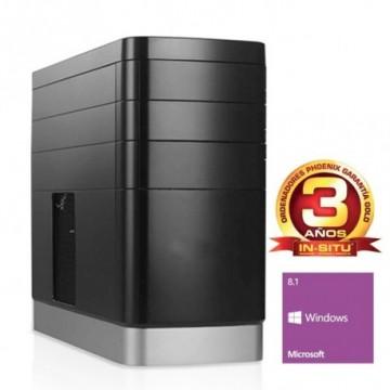 ORDENADOR PHOENIX TOPVALUE AMD A4 6300 500GB DDR3 4G RW W8.1