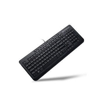 TECLADO QWERTY ESPAÑOL MULTIMEDIA  PHOENIX CON CABLE USB