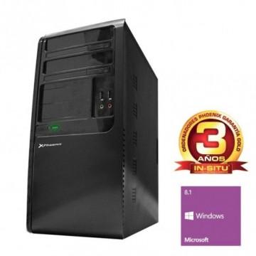 ORDENADOR PHOENIX TOPVALUE INTEL PENTIUM DUAL CORE 3250 4GB DDR3 500 GB RW W8.1