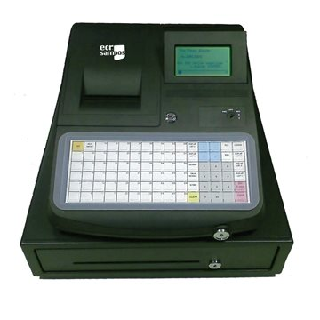 ECR SAMPOS ER-680 Caja Registradora Ticket Grande 80mm