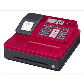 Caja Registradora Casio SE-G1 SB color Rojo