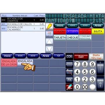 Software TPV Blatta - Modo 2 - Trabajo en RED - LICENCIA ANUAL