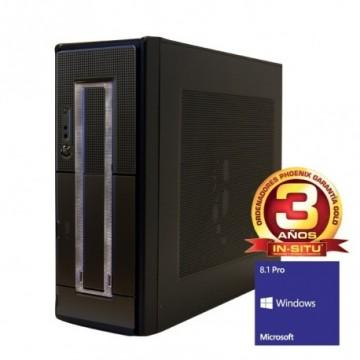 ORDENADOR DE OFICINA PHOENIX OBERON PRO INTEL CORE I3 4GB DDR3 500GB RW  W8.1PRO