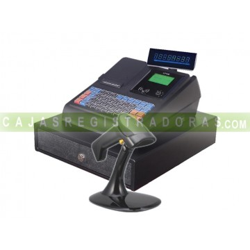 Caja Registradora LF100 + Lector Codigo de Barras Teide