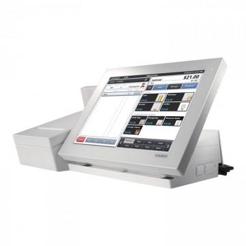 TPV Casio V-R100 Negro con impresora, software y visor integrados - Cajon incluido