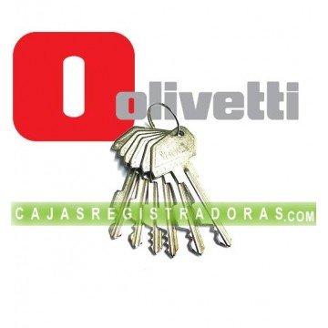 Llaves para Caja Registradora Olivetti - Recambio
