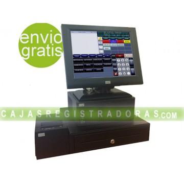 """TPV táctil Pack Wincor 12"""" Ocasion con software, cajon e impresora"""
