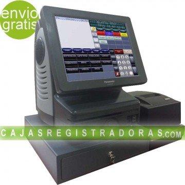 """Pack TPV Panasonic 12"""" con impresora y cajón ocasión"""