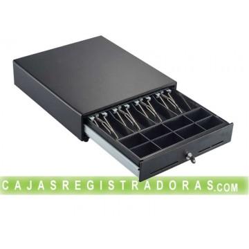 Cajon TPV Eléctrico High Quality Metal 41 x 41 RJ Negro