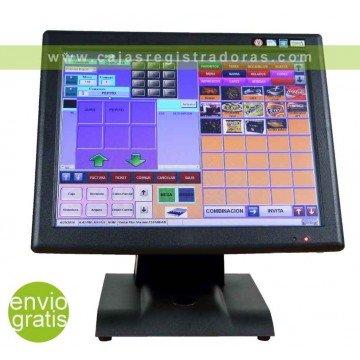 """TPV KT-700 Fanless - Táctil 15"""" LCD . Intel Quadcore J1900N 1.97Ghz - SSD 64GB"""