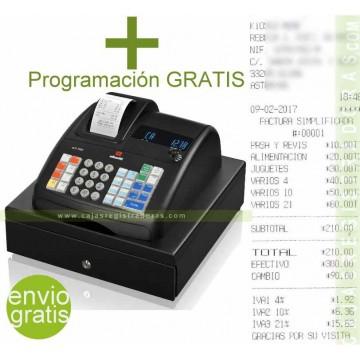 Caja Registradora Olivetti ECR 7200 + Programación Gratis