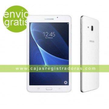 "Tablet Samsung galaxy tab a 7"" quad Core 1.2 ghz 1.5GB RAM 8GB rom blanco"