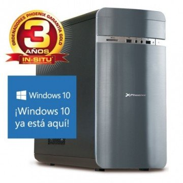 ORDENADOR PHOENIX CASIA INTEL CORE I5 8GB DDR3 1600 1TB RW