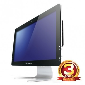 "ORDENADOR PHOENIX ALL IN ONE CONSTELLATION INTEL PENTIUM DUAL CORE 4GB DDR3 500GB  LED 21.5"" RW WIFI WEBCAM"
