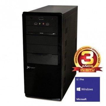 ORDENADOR DE OFICINA PHOENIX OBERON PRO INTEL CORE I5 8GB DDR3 1600 1TB RW W8.1PRO