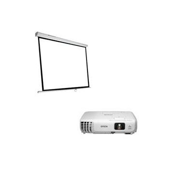 VIDEOPROYECTOR EPSON EB-S18 + PANTALLA