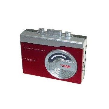 REPRODUCTOR CONVERSOR CASSETTE A MP3 NEVIR