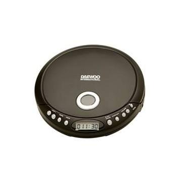 DISCMAN REPRODUCTOR MP3 DAEWOO DDM-52 NEGRO