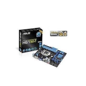 PLACA BASE ASUS INTEL H61M-F SOCKET 1155 DDR3x2 1600MHz 16GB DVI mATX
