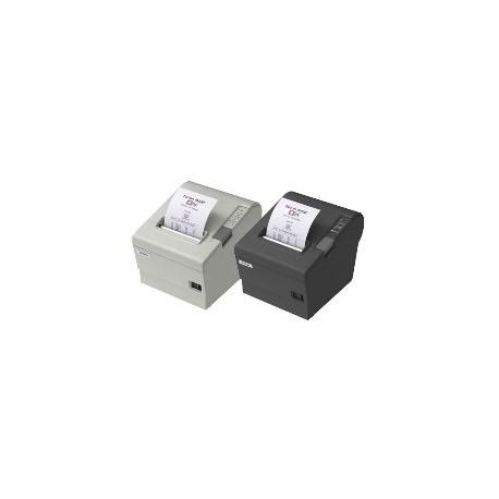IMPRESORA TICKET EPSON TM-T88-V TERMICA PARALELO Y USB BLANCA