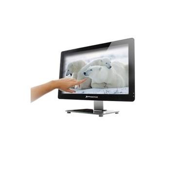 CAJA BAREBONE ALL IN ONE TACTIL PHOENIX PANTALLA LED 21.5''SLIM  USB HD AUDIO LECTOR MEMORIA WEBCAM FUENTE 150W