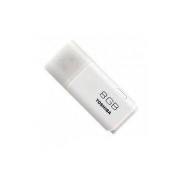 MEMORIA USB 8GB TOSHIBA HAYABUSA BLANCO