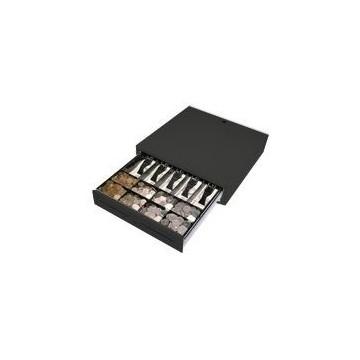 CAJON PORTAMONEDAS 41X41 USB NEGRO