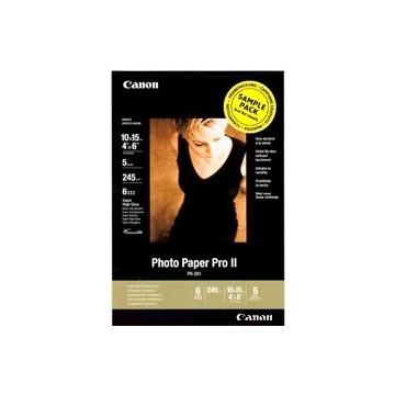 PAPEL FOTOGRAFICO CANON PRO II 10X15 245G SAMPLE