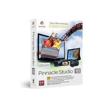 SORTWARE DE EDICION DE VIDEO PINNACLE STUDIO V.18  STANDARD