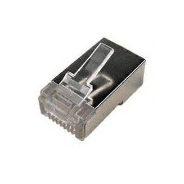 CONECTOR RJ45 DOBLE BLINDAJE CATEGORIA 6
