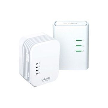 KIT 2 POWERLINE 500M HOME AV WIRELESSN MINI EXTENDERQOSC