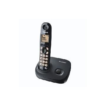 TELEFONO INALAMBRICO LCD PANASONIC KX-TG7301SPS NEGRO