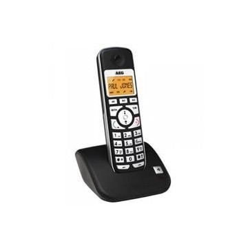 """TELEFONO INALAMBRICO AEG VOXTEL S100 MANOS LIBRES / AGENDA DE 20 POSICIONES / DISPLAY DE 17"""" ILUMINADO / TONOS POLIFONICOS"""