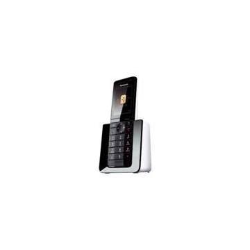 TELEFONO INALAMBRICO DIGITAL DECT PANASONIC KX-PRS110SPW DISEÑO PREMIUM LCD ILUMINADO BLANCO