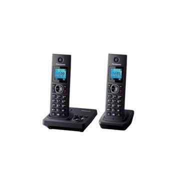 TELEFONO INALAMBRICO DIGITAL DECT PANASONIC KX-TG7852SPB DUO