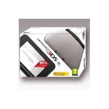 CONSOLA NINTENDO 3DS XL PLATA SD + 4GB
