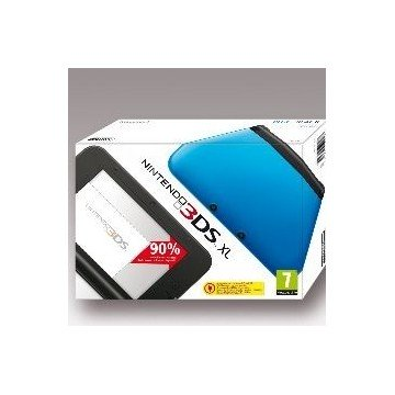 CONSOLA NINTENDO 3DS XL AZUL + TARJETA SD 4GB