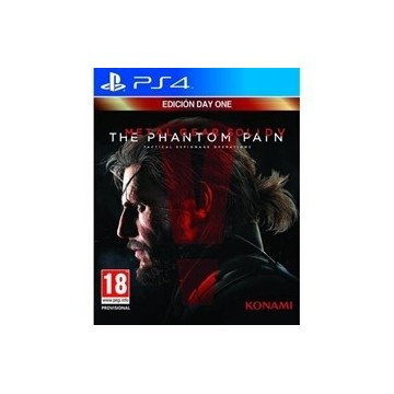 JUEGO PS4 - METAL GEAR  SOLID V: THE PHANTOM PAIN - DAY ONE