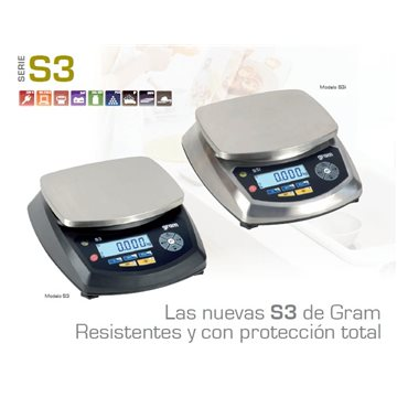 Balanza industrial Serie S3i-30