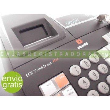 Olivetti ECR 7700 LD ECO PLUS + 10 Rollos gratis