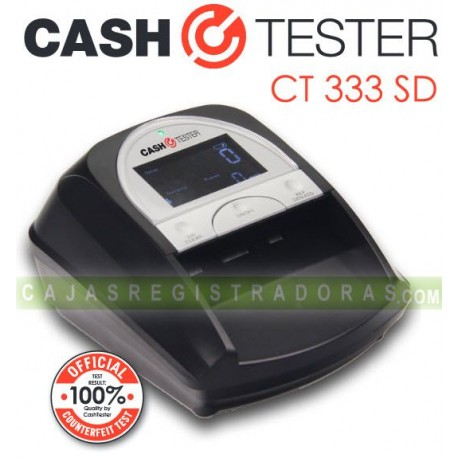 Detector Billetes Falsos Cash Tester CT333 SD