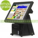 "TPV KT-800 LED FT - TPV Táctil 15"" Capacitiva - SSD 64GB - 4GB RAM - J1900N Quad Core"