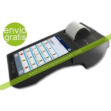 """TPV Tablet 7"""" Táctil Android con impresora y bateria integrada"""