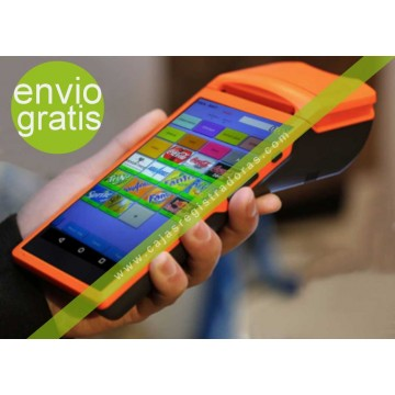 """TPV MICRO - POS de 5,5"""" impresora integrada y 3G + Software Licenciado"""