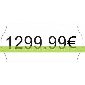 Etiquetas adhesivas para pistola etiquetadora - caja 15.000 unidades