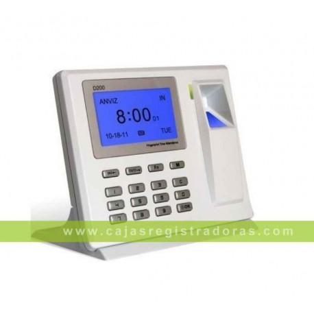 Control de Presencia Biométrico por Huella y Teclado