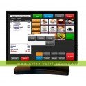 "Monitor LED Asus vt168n 15.6"" HD ready multitáctil 10 puntos d-sub dvi-d"