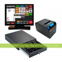 Pack TPV KT90-i5 con 256 GB disco duro SSD y 8 Gb RAM + Impresora TPV + Cajon  + Software TPV