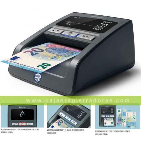 Detector Billetes Falsos Safescan 155 - S Color Negro