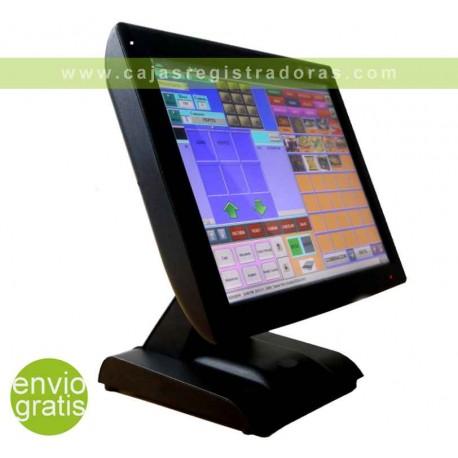 "TPV KT-700 LED Táctil 15"" Quad Core - 64GB - 2GB Ram - Visor Cliente integrado"